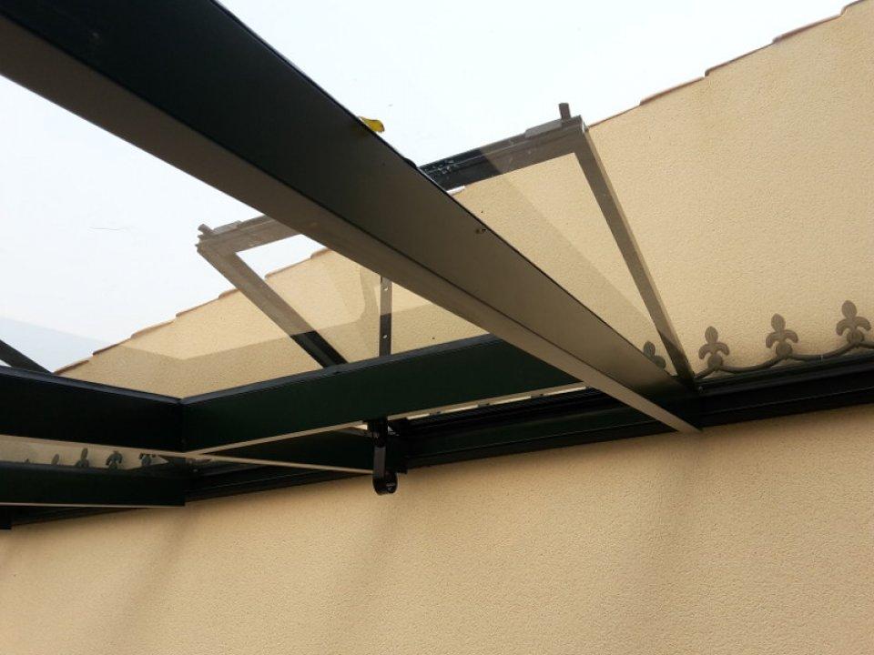 Montage d'une serre adossée à Villedoux (17) vue 2