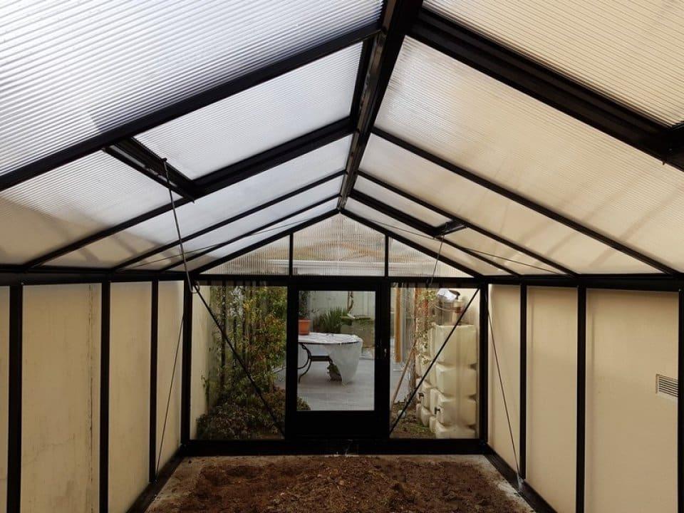 Pose d'une serre tropicale à Maisons Alfort (94) vue 4