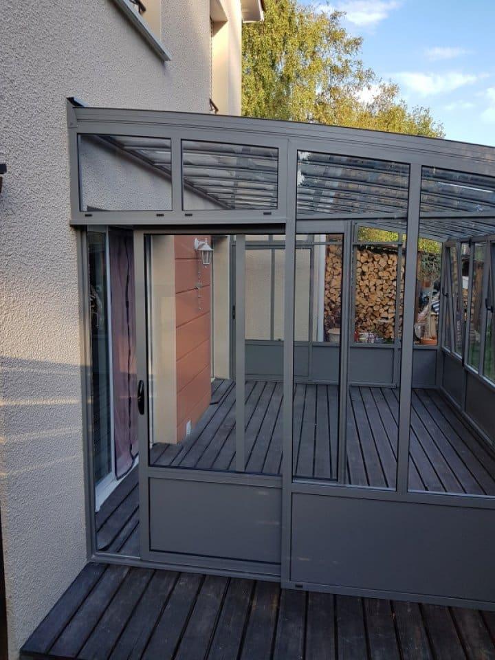 Installation d'un jardin d'hiver Lentilly (69 - Rhône) vue 2