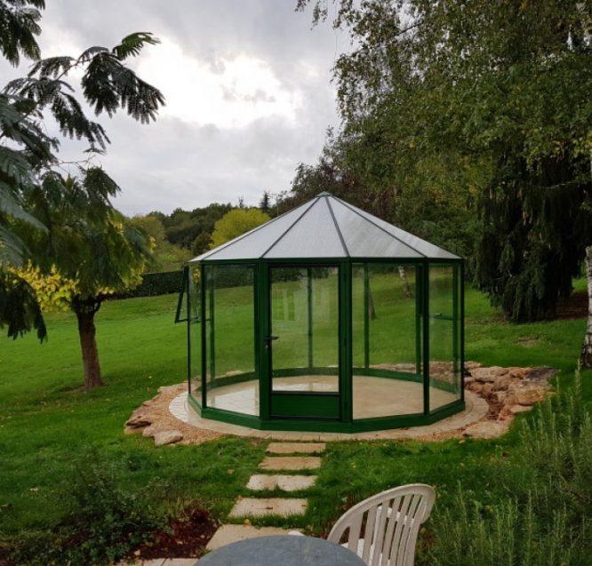 Installation d'un pavillon – Amboise (37 – Indre-et-Loire)