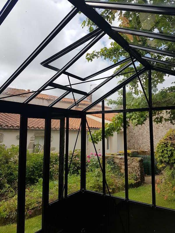 Lucarne de toiture pour serre Euro Maxi (Vue 0)