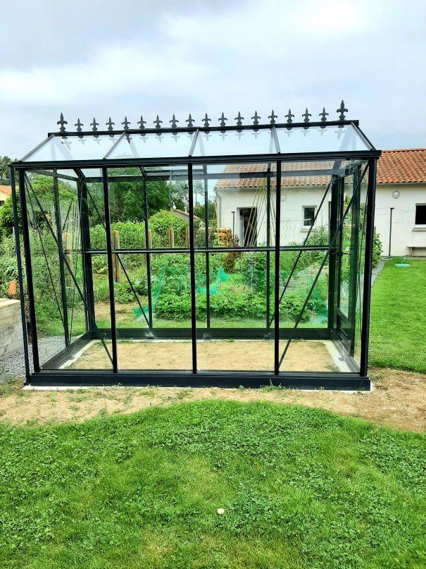 Petite serre de jardin victorienne - Structure aluminium - Euro Micro Victorian (Vue 0)