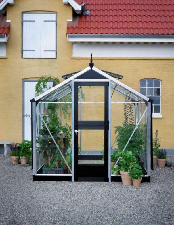 Petite serre de jardin - 2.24x2.24m - Compact - Juliana - 5.0m² (Vue 1)