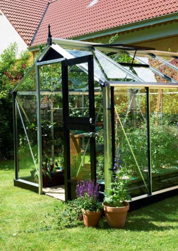 Petite serre de jardin - 2.24x2.24m - Compact - Juliana - 5.0m² (Vue 2)