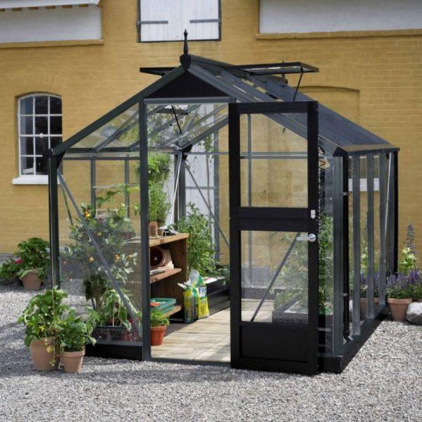 Petite serre de jardin - 2.24x2.24m - Compact - Juliana - 5.0m² (Vue 3)