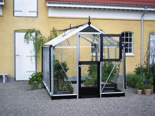 Petite serre de culture - Structure aluminium - Compact - Juliana - 6.6m² (Vue 1)