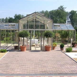 Serre d'ornement Orangerie Professionnelle - Structure aluminium - Euro Spark (Vue 0)