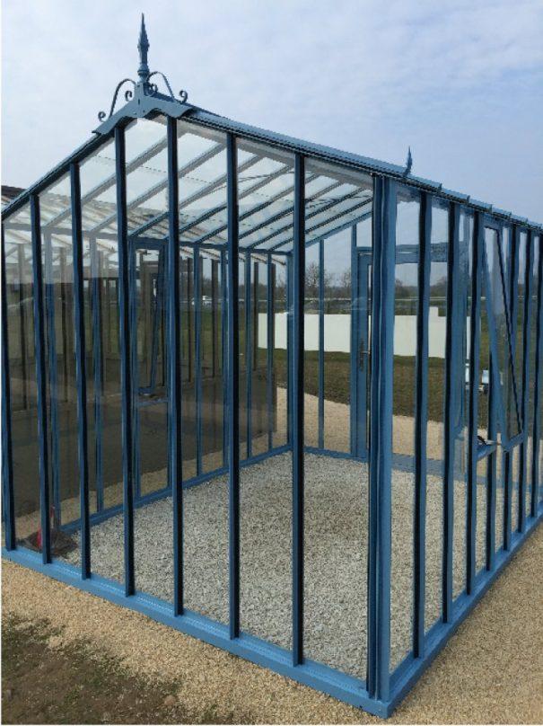 Serre d'antan double pente - Structure aluminium - Joséphine Classique (Vue 2)