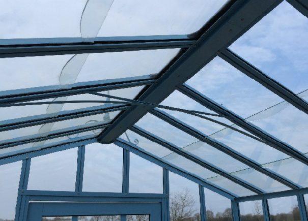 Serre d'antan double pente - Structure aluminium - Joséphine Classique (Vue 7)