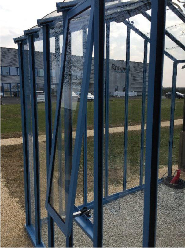 Serre d'antan double pente - Structure aluminium - Joséphine Classique (Vue 4)