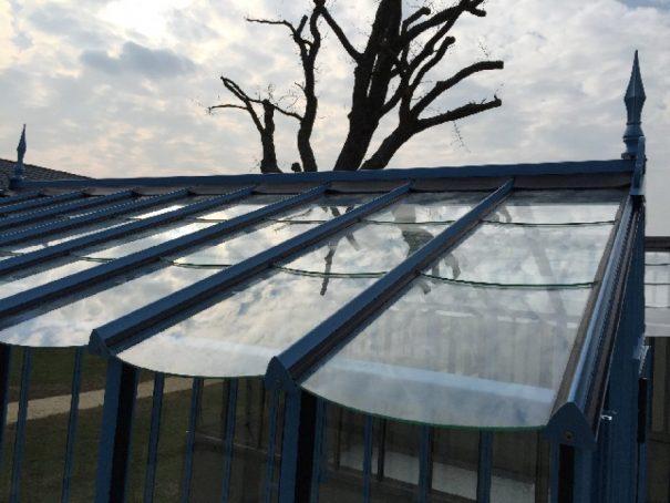 Serre d'antan double pente - Structure aluminium - Joséphine Classique (Vue 6)