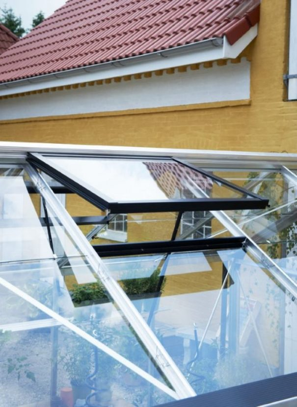 Petite serre de jardin - Structure aluminium - Compact - Juliana - 8.2m² (Vue 7)