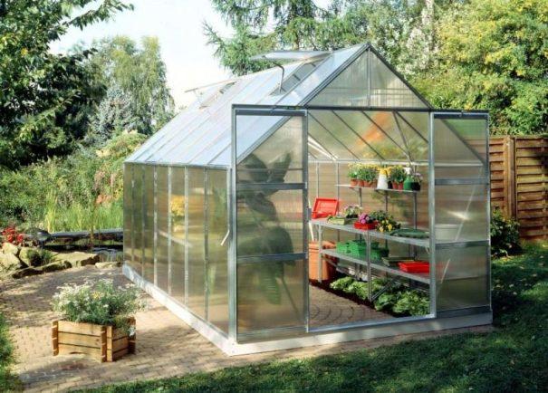 Grande serre de jardin - 2.57x4.46m - Magnum 148 - Halls - 11.5m² (Vue 1)