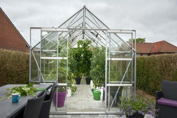Grande serre de jardin - 2.57x4.46m - Magnum 148 - Halls - 11.5m² (Vue 2)