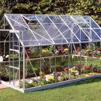 Grande serre de jardin - 2.57x4.46m - Magnum 148 - Halls - 11.5m² (Vue 0)