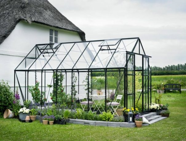 Grande serre de jardin - 2.57x4.46m - Magnum 148 - Halls - 11.5m² (Vue 3)