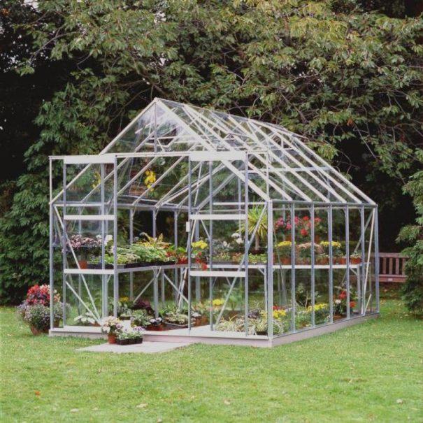 Serre de jardin classique - 2.57x3.84m - Magnum 128 - Halls - 9.9m² (Vue 1)