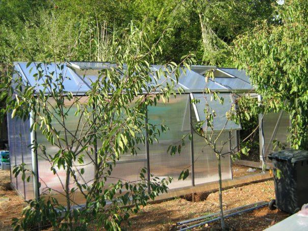 Serre de culture chaude - Structure aluminium - Tropic Maxi Alu (Vue 2)