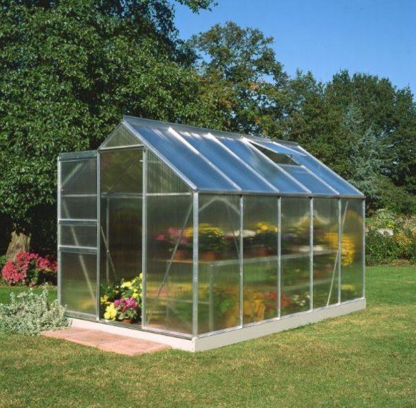 Serre de jardin petite surface - 1.93x3.19m - Popular 106 - Halls - 6.3m² (Vue 1)