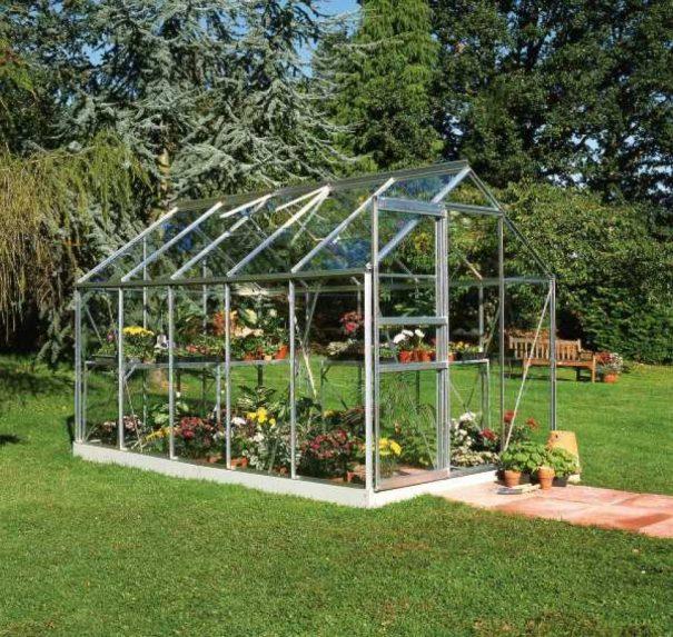 Serre de jardin petite surface - 1.93x3.19m - Popular 106 - Halls - 6.3m² (Vue 0)