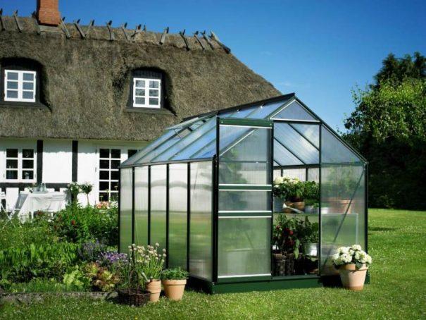 Serre de jardin petite surface - 1.93x3.19m - Popular 106 - Halls - 6.3m² (Vue 2)