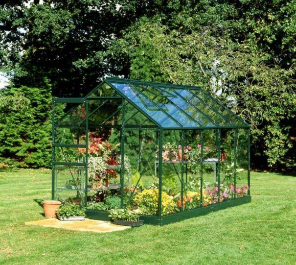 Serre de jardin petite surface - 1.93x3.19m - Popular 106 - Halls - 6.3m² (Vue 3)