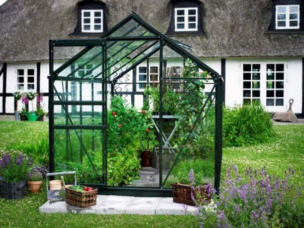 Serre de jardin petite surface - 1.93x3.19m - Popular 106 - Halls - 6.3m² (Vue 4)