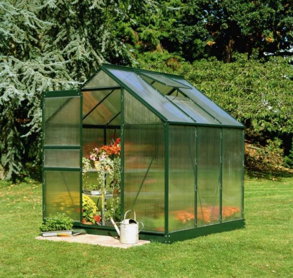 Petite serre de jardin - 1.93x1.95m - Popular 66 - Halls - 3.8m² (Vue 4)