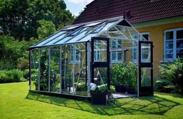 Serre de jardin grande surface - 2.96x3.68m - Premium - Juliana - 10.9m² (Vue 1)