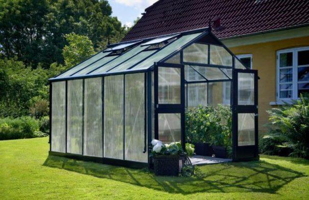 Serre de jardin grande surface - 2.96x3.68m - Premium - Juliana - 10.9m² (Vue 2)