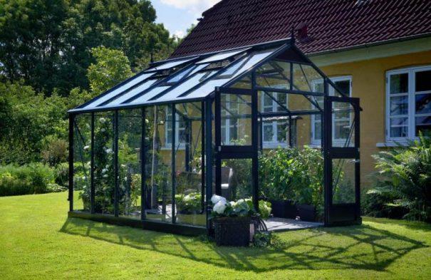 Serre de jardin grande surface - 2.96x3.68m - Premium - Juliana - 10.9m² (Vue 0)