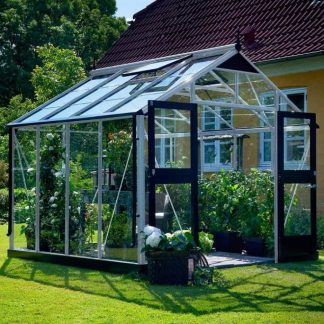 Serre de jardin grande surface - 2.96x2.96m - Premium - Juliana - 8.8m² (Vue 0)