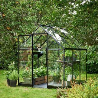 Serre de jardin double pente - 1.98x1.98m - Qube 66 - Halls - 3.9m² (Vue 0)