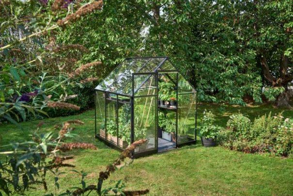 Serre de jardin double pente - 1.98x1.98m - Qube 66 - Halls - 3.9m² (Vue 2)