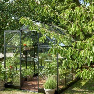 Serre de jardin classique - 1.98x2.59m - Qube 68 - Halls - 5.1m² (Vue 0)