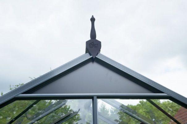 Petite serre de jardin - Structure aluminium - Compact - Juliana - 8.2m² (Vue 11)