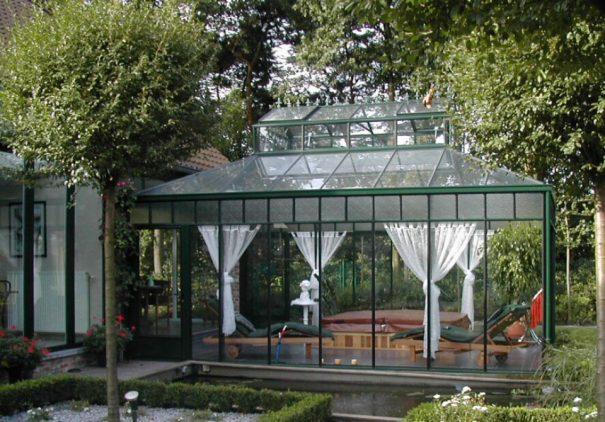 Serre d'agrément Orangerie - Structure aluminium - Euro Royal (Vue 1)