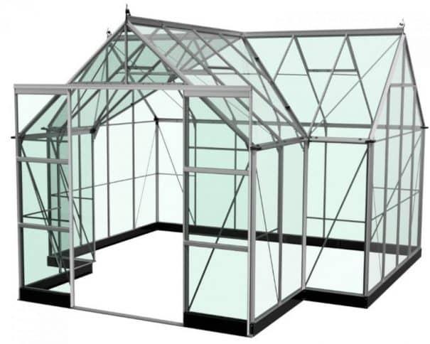 Petite serre de jardin - 1.93x1.95m - Popular 66 - Halls - 3.8m² (Vue 6)