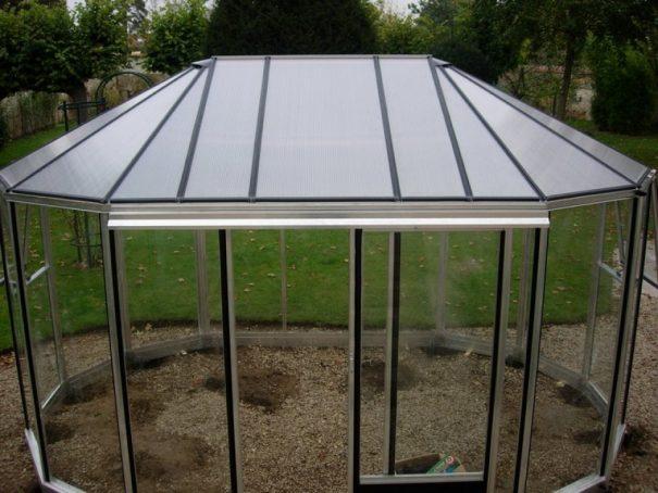 Kiosque de jardin - Structure aluminium - Euro Exotic Alu (Vue 1)
