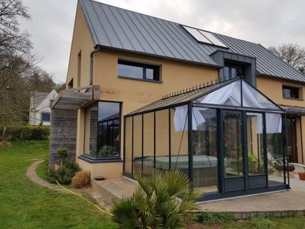 Serre gothique autonome - Structure aluminium - Euro Maxi Victorian (Vue 2)