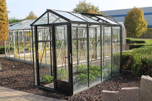 Petite serre de jardin victorienne - Structure aluminium - Euro Micro Victorian (Vue 1)