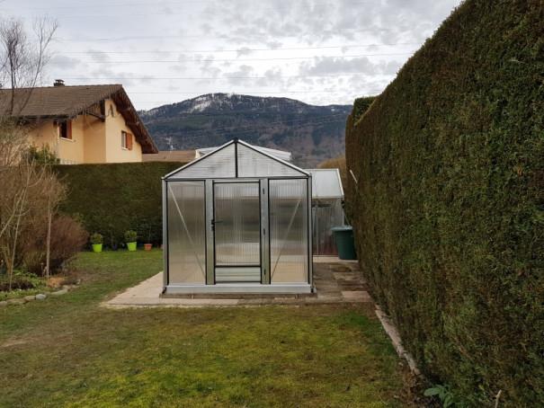 Serre de culture chaude - Structure aluminium - Tropic Maxi Alu (Vue 3)