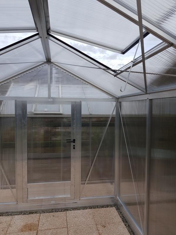 Serre de culture chaude - Structure aluminium - Tropic Maxi Alu (Vue 5)