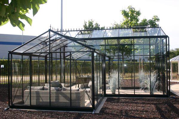 Serre d'ornement Orangerie gothique - Structure aluminium - Euro T Classic Victorian (Vue 2)