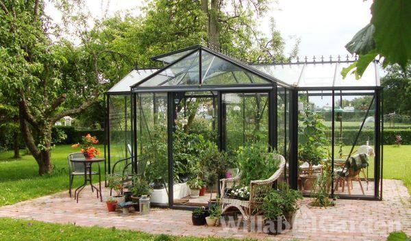 Serre d'ornement Orangerie gothique - Structure aluminium - Euro T Classic Victorian (Vue 1)