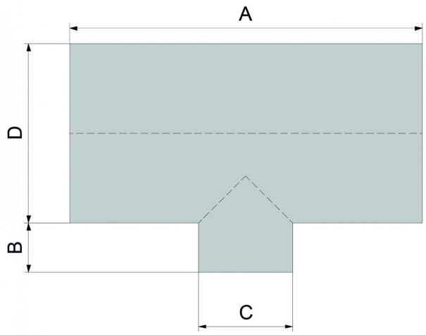 Serre victorian en T - Structure aluminium - Victorian Alu (Vue 3)