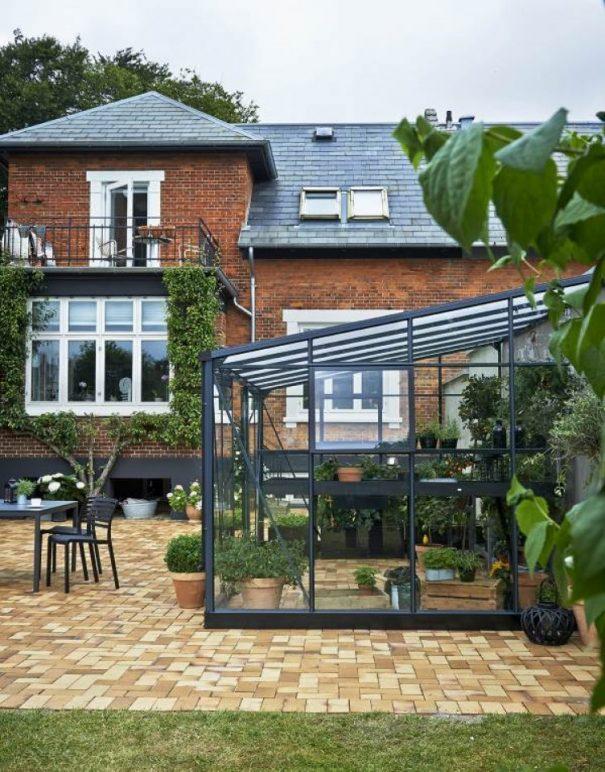 Serre de jardin monopente grande surface - 2.93x4.39m - Veranda - Juliana - 12.9m² (Vue 2)