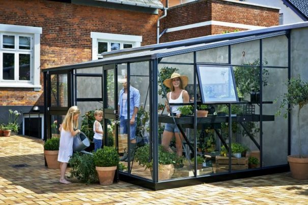 Serre de jardin monopente grande surface - 2.93x4.39m - Veranda - Juliana - 12.9m² (Vue 3)
