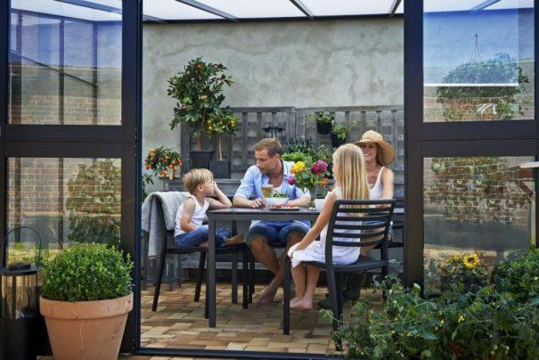 Serre de jardin monopente grande surface - 2.93x4.39m - Veranda - Juliana - 12.9m² (Vue 4)