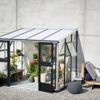 Serre de jardin adossée - 2.21x2.96m - Veranda - Juliana - 6.6m² (Vue 0)